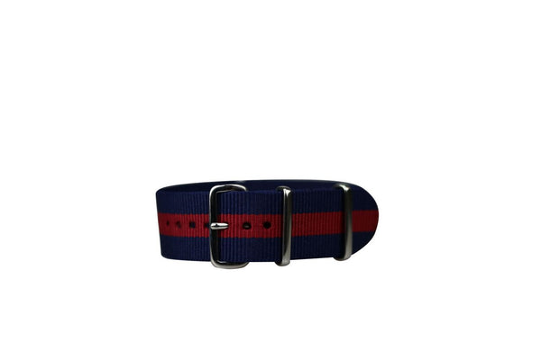 NAVY & RED WATCH STRAP