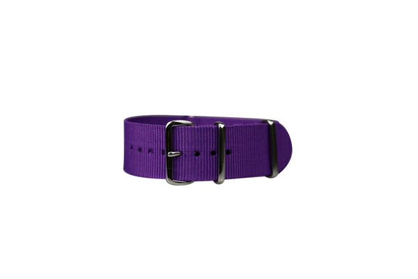 SOLID PURPLE WATCH STRAP