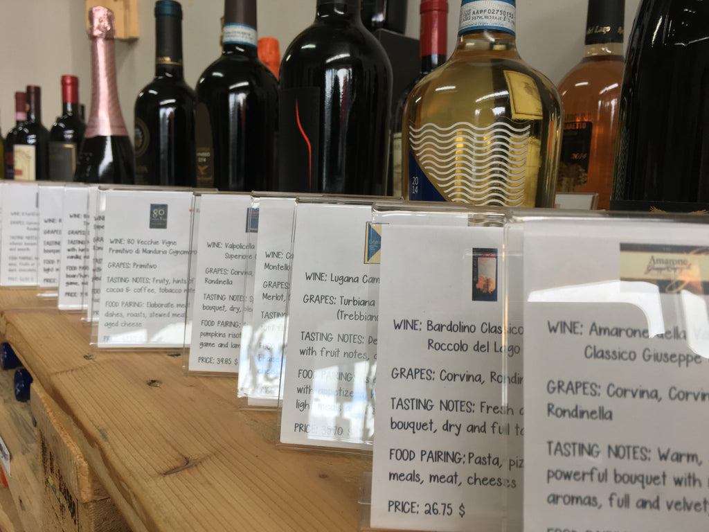 Italian Wine: the Denomination Mistery Unraveled