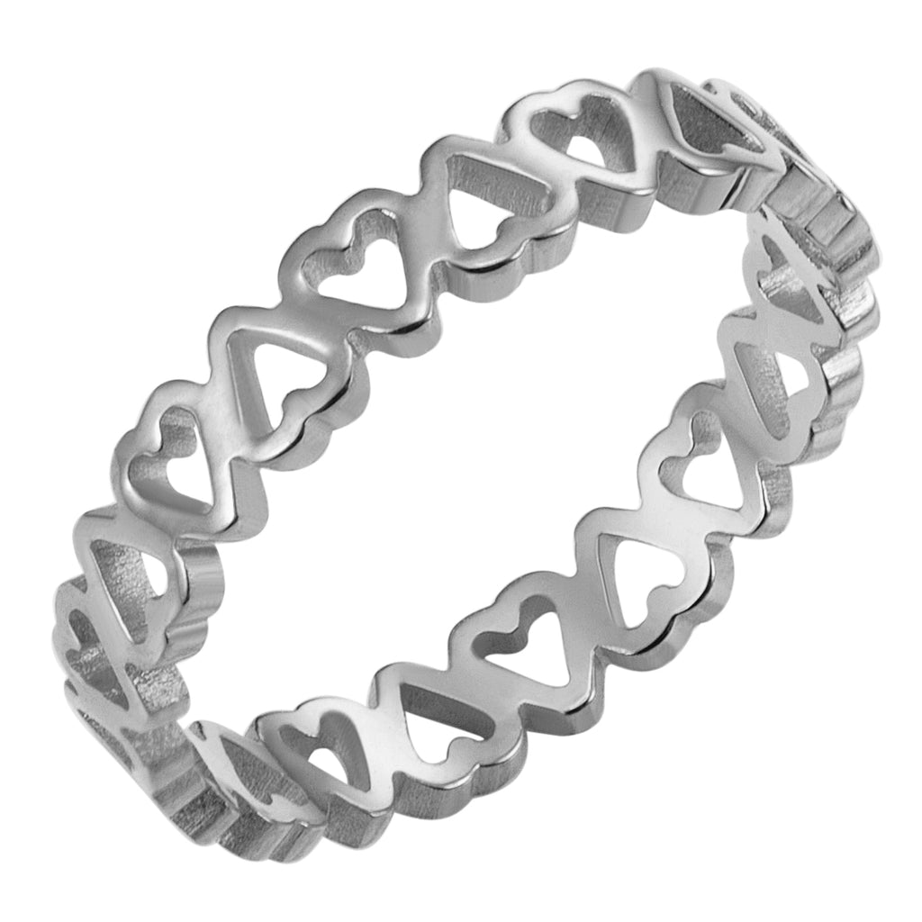 Eternal Love Ring, Silver
