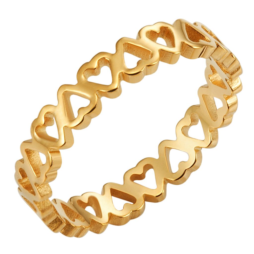 Eternal Love Ring, Gold