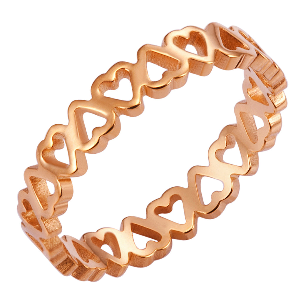 Eternal Love Ring, Rose Gold
