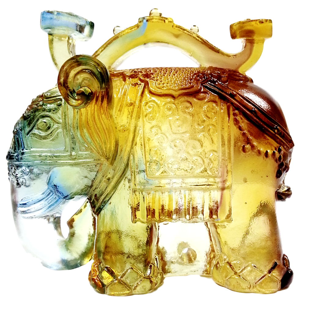 Sacred Glazed Elephant