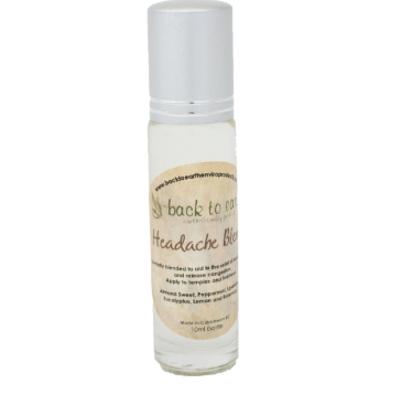 Back To Earth- Headache Blend Synergy Oil - 15ml