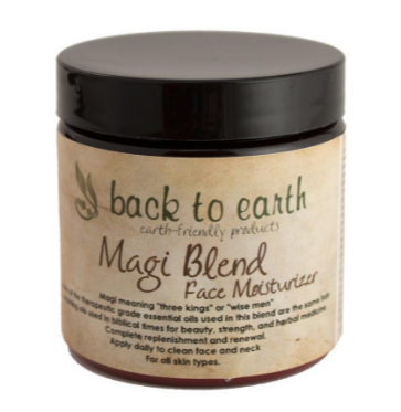 Back To Earth- Magi Blend Face Moisturizer with Baobab Oil 4oz/120ml