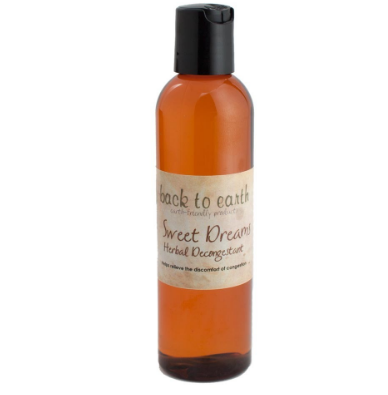 Back To Earth- Sweet Dreams - Herbal Decongestant 4oz/120ml