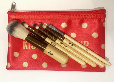 Sappho Organics- Bamboo Brush Set (original design)