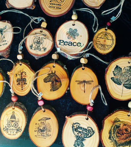 Handmade Wooden Ornaments