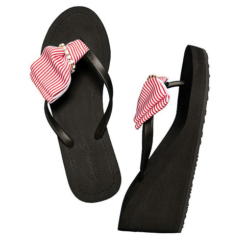 Red Marine - Wedge Sandal