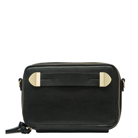 P2036 Black Finn Crossbody