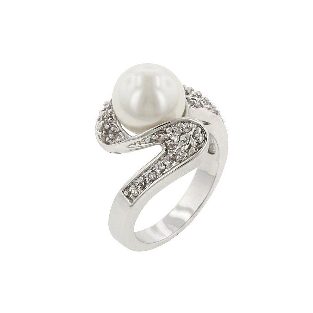 Pearl Whirl Ring