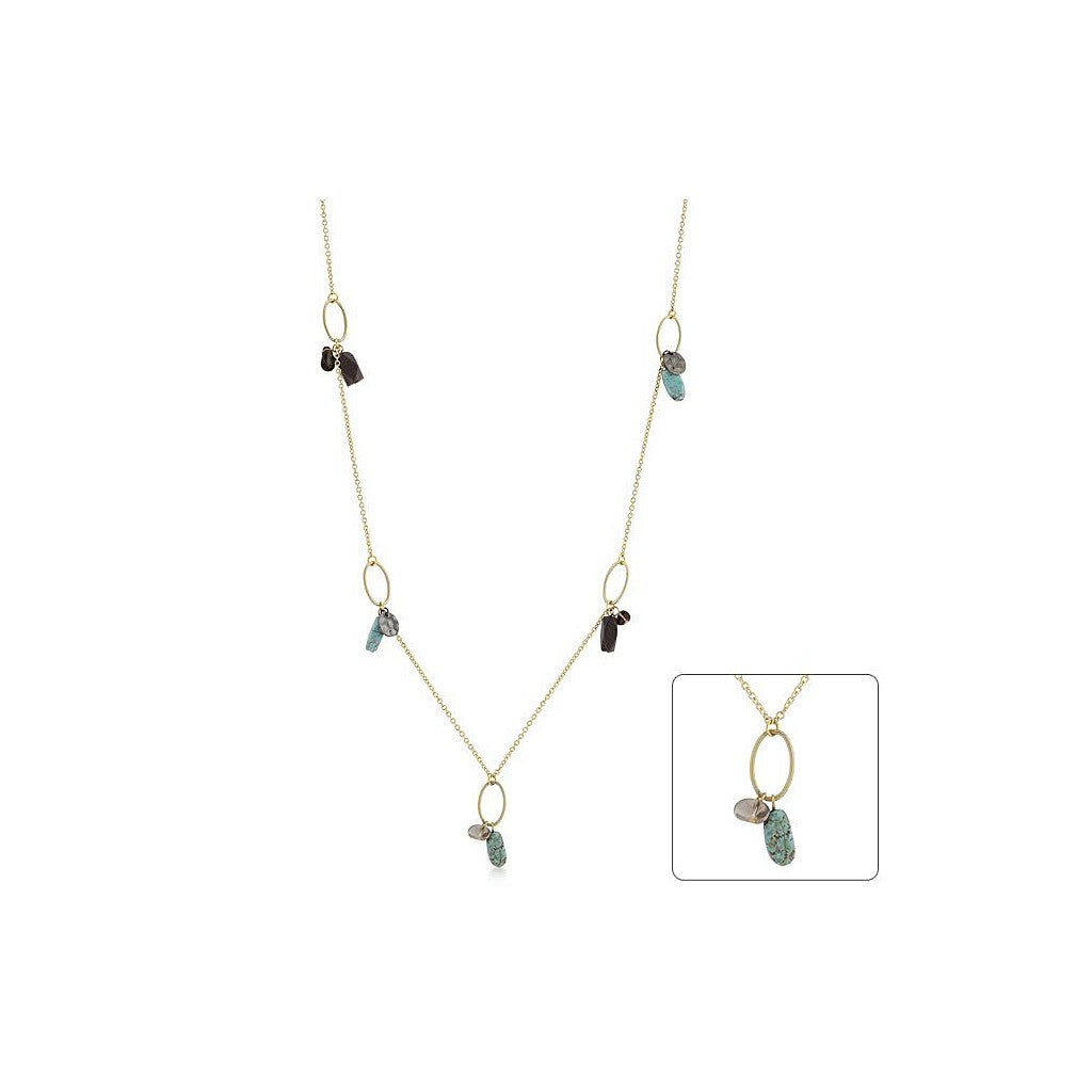 Turquoise Treasures - Necklace