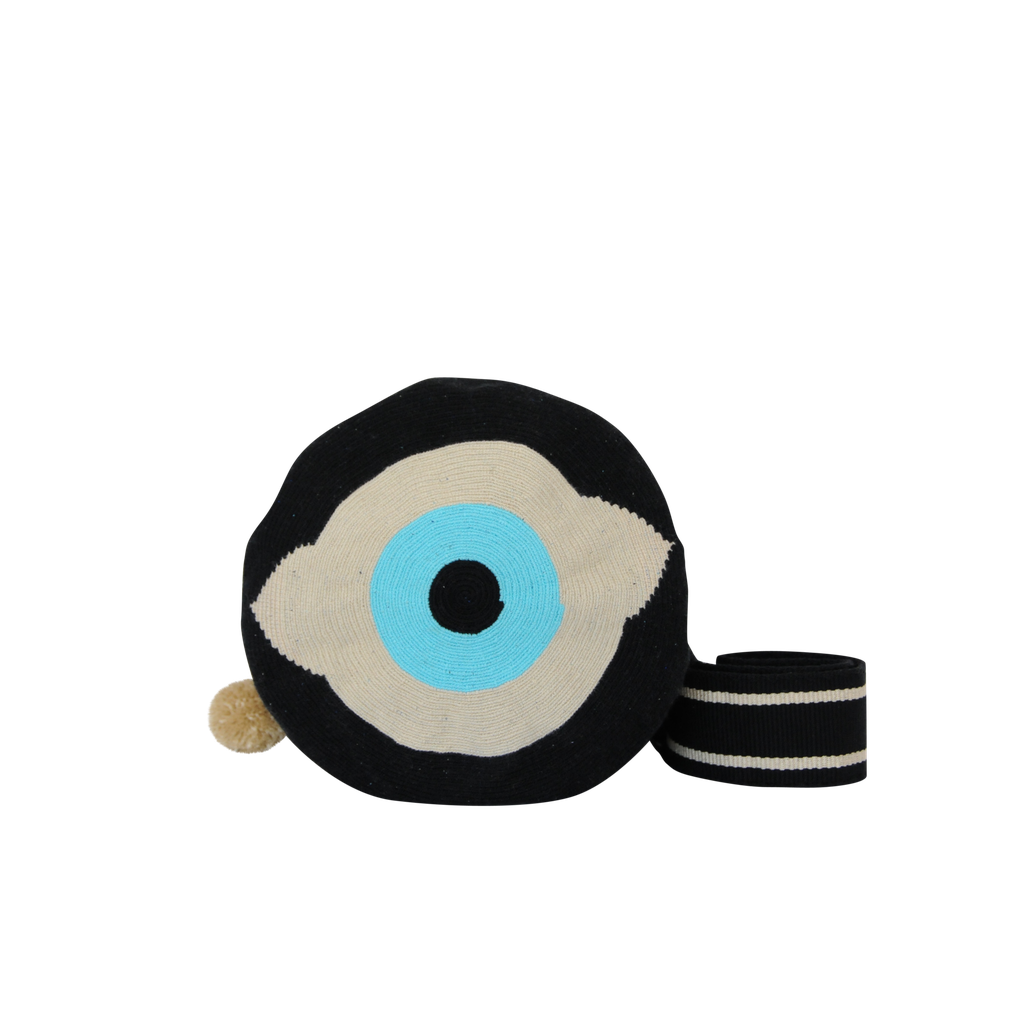 Evil Eye Crossbody - Black