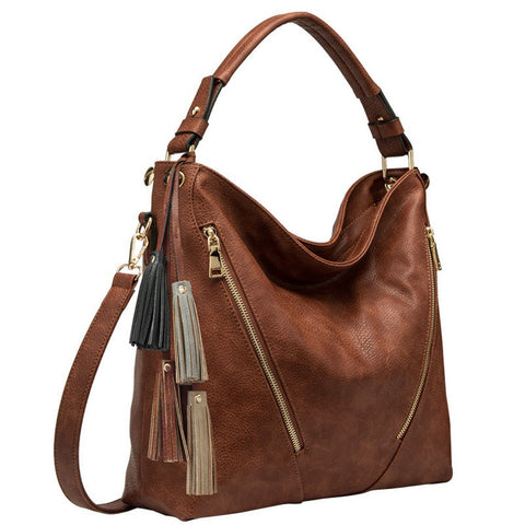 E3060 Knox Cognac Shoulder Bags