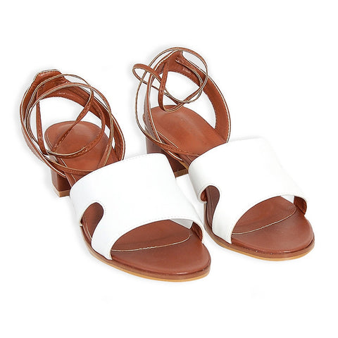 Bambi Lace-Up Sandals