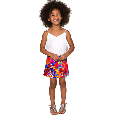 Summer Dizziness Aria A-Line Skirt - Girls
