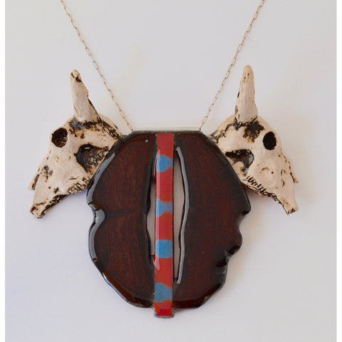 Steer Horn Necklace