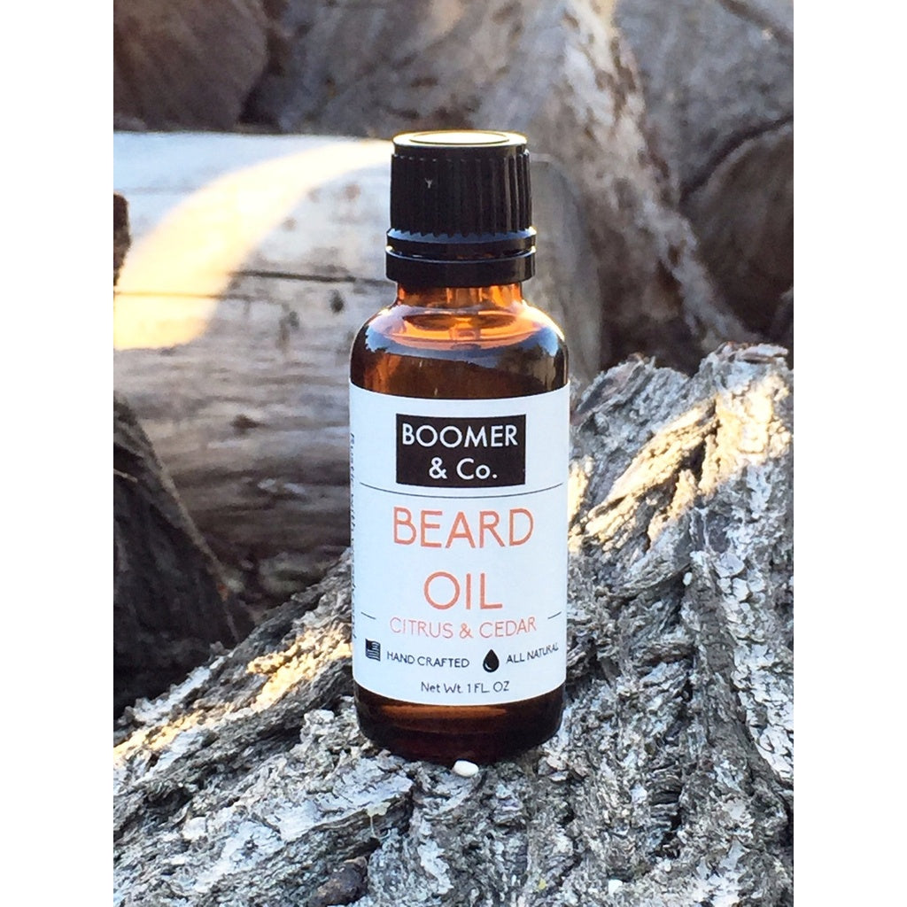 Citrus and Cedar Beard Oil