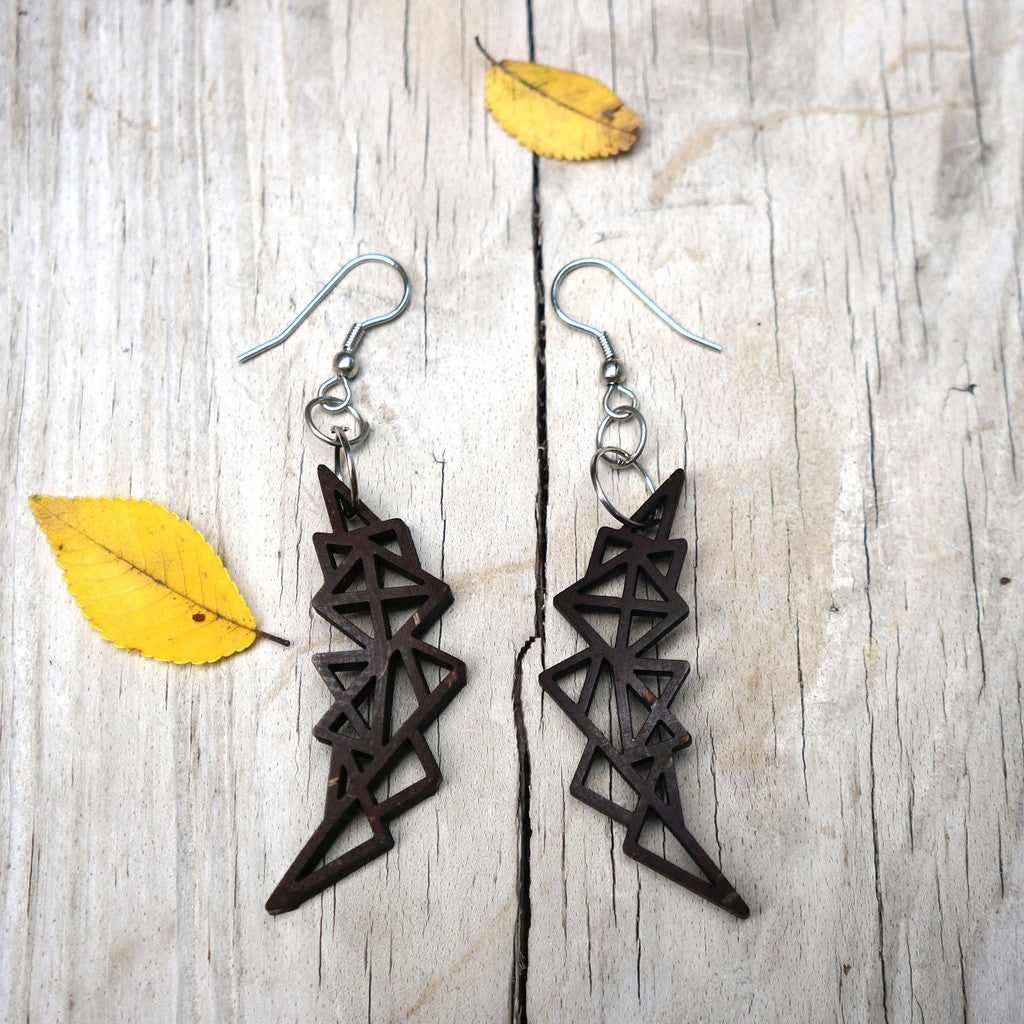 Abstract Geometric Earrings