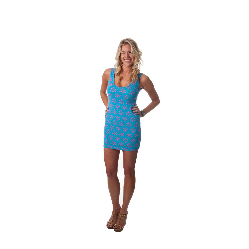 Birds in Flight Sharice Tank Dress