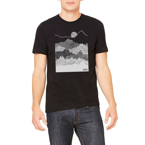 Ascend Mountains Tee- Akinz - Shopstara