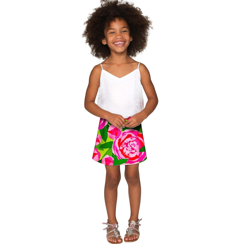 Pink Vibes Aria A-Line Skirt - Girls