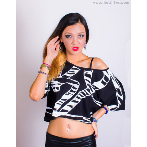 HL Zebra - Cropped Top