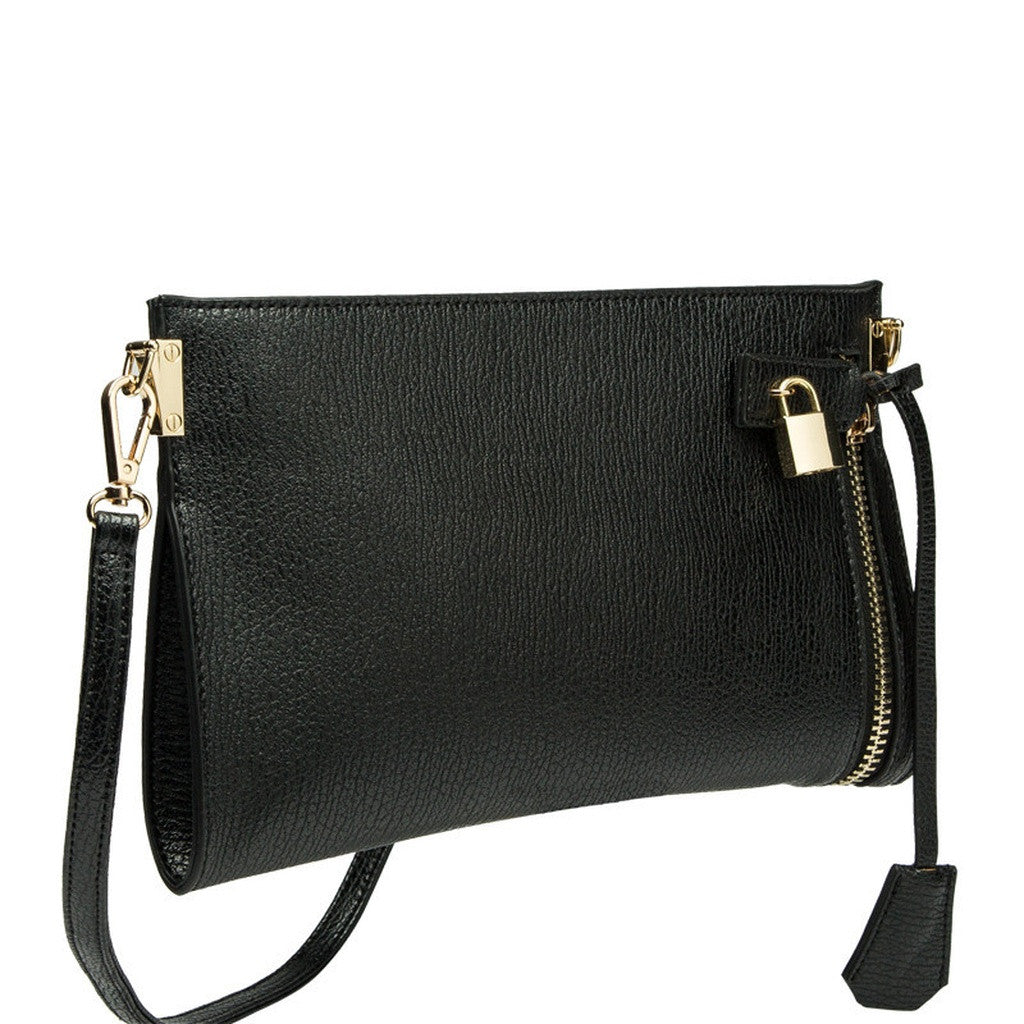 E5002 Misha Black Crossbody