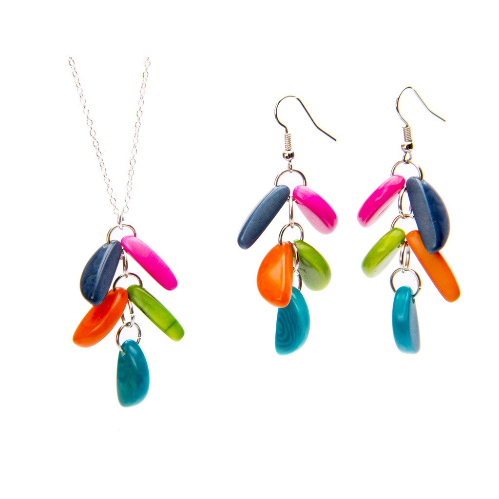Adora Tagua Earrings- Peace Love Bling - Shopstara