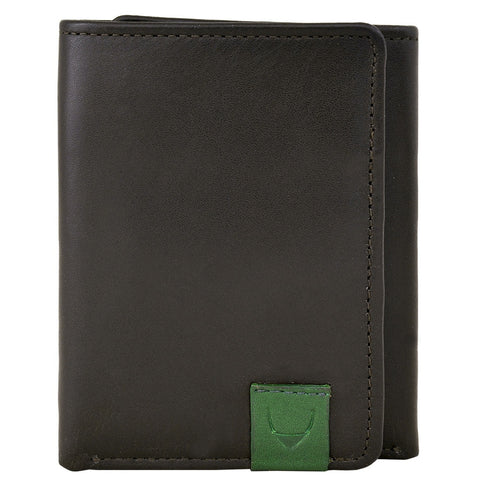 Dylan Compact Trifold Leather Wallet with ID Window