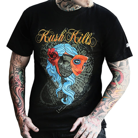 Beauty Lies Within Mens T-Shirt- Kush Kills Clothing - Shopstara