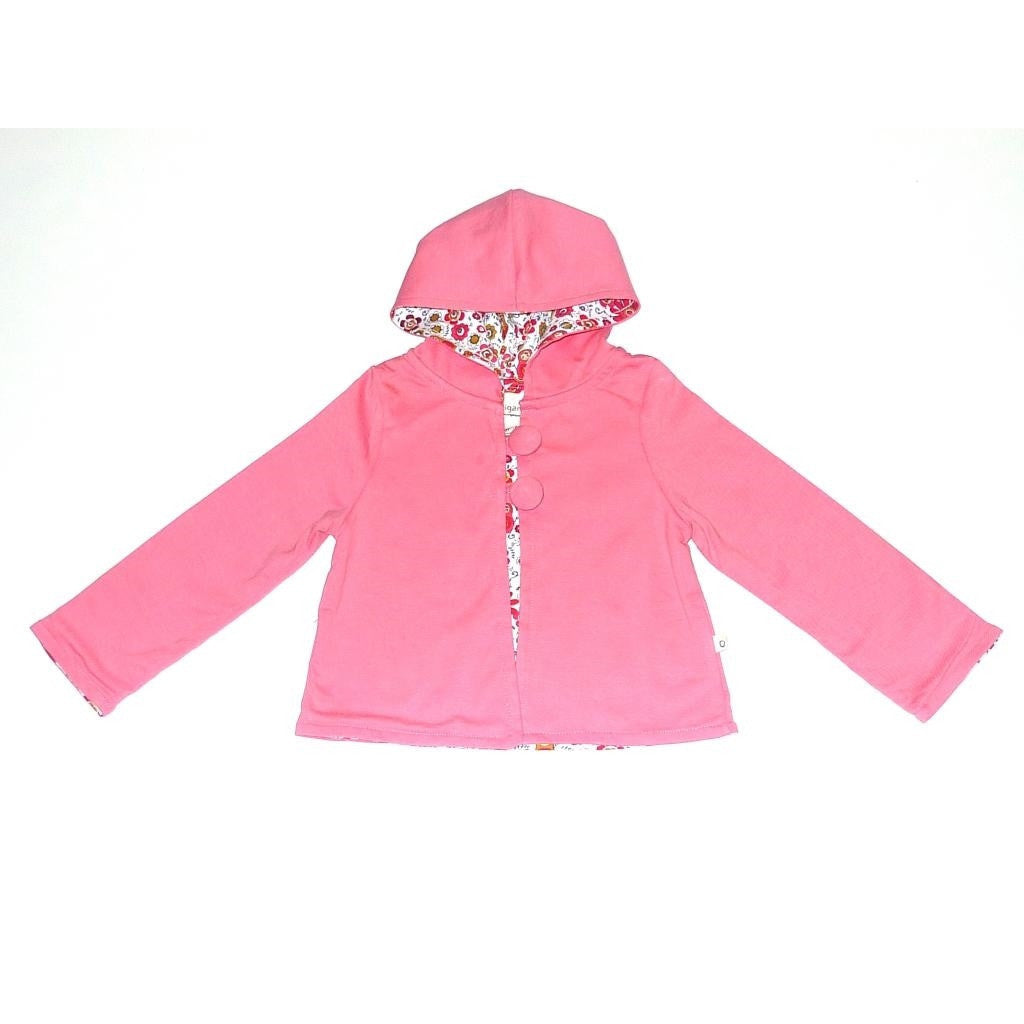 Organic Girls' Play Time Hoodie