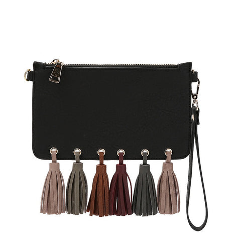 E5071 Suri Black Evening Bag
