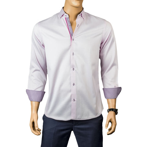 Kennedy Sateen Pink Shirts