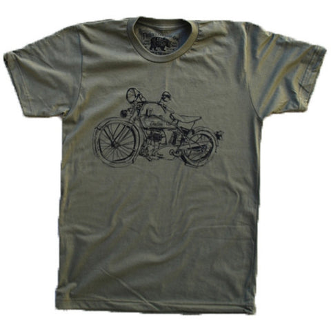 1929 Indian Motorcycle Army- Paulville Goods - Shopstara