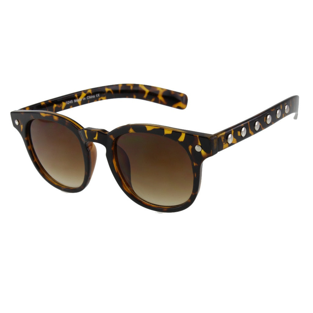Unisex Metal Studded Sunglasses