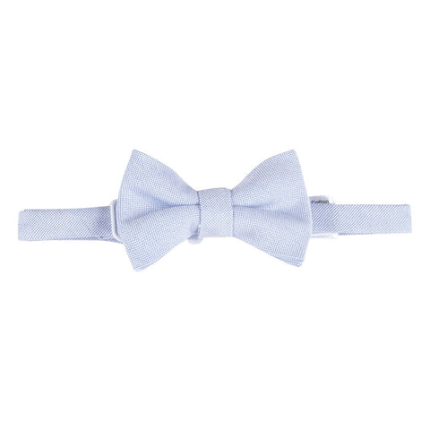 Blue Oxford Bowtie