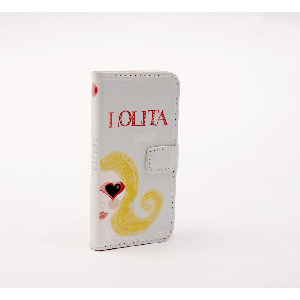 Lolita phone flip case wallet for iPhone and Samsung