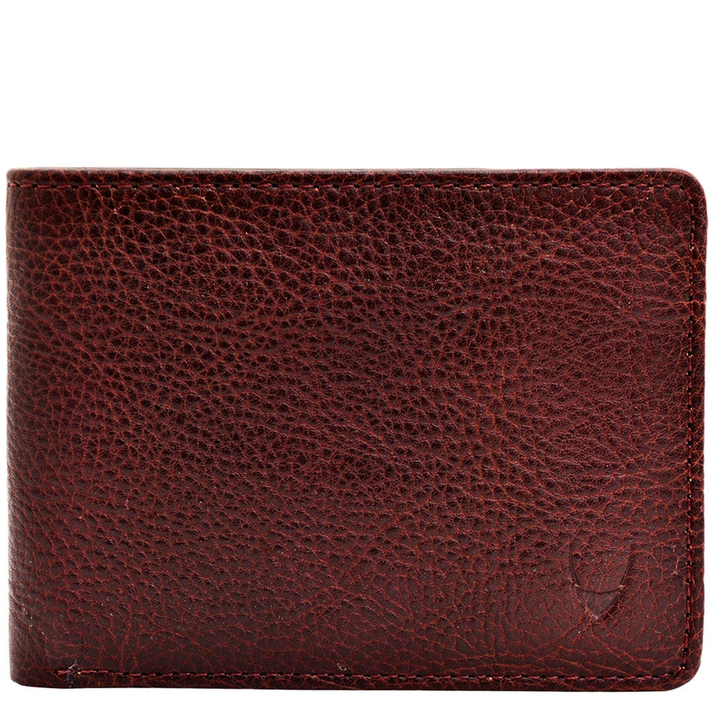 Giles Vegetable Tanned Leather Trifold Wallet with Multiple Compartments