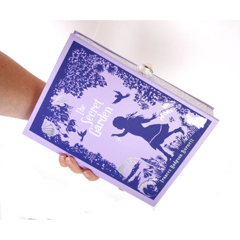 Secret Garden Book Clutch