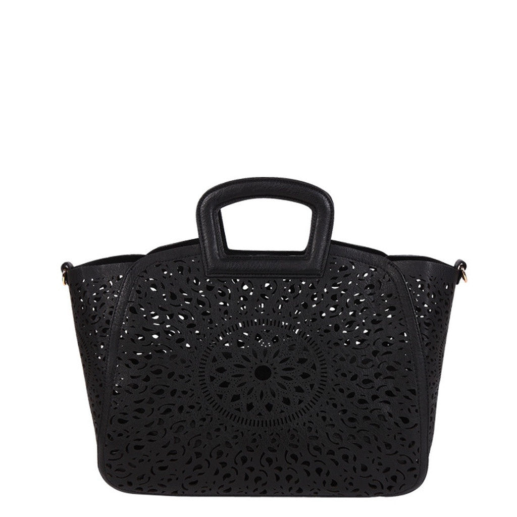 H6266 Nancy Black Totes