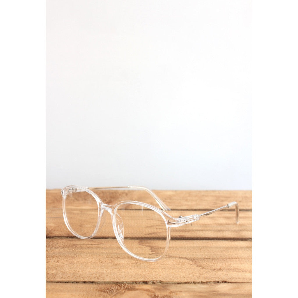 Clear Frame Eyeglasses