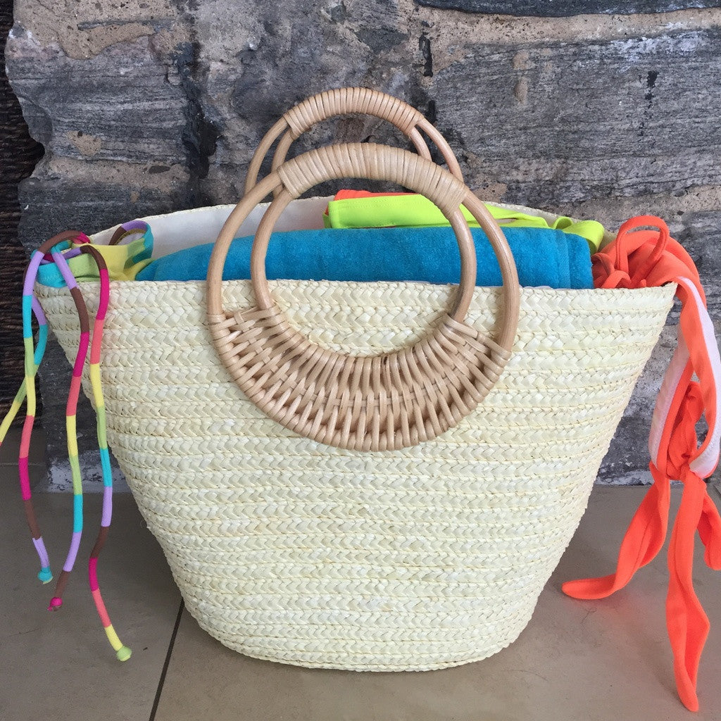 Beach Glam Tropical Colored Beach Bags- Beach Glam - Shopstara