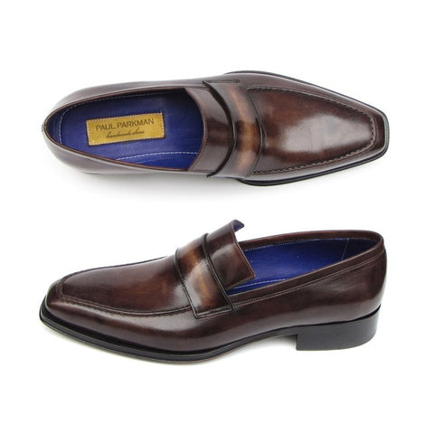 Paul Parkman Men's Loafer Bronze Shoes (ID#012-BRNZ)