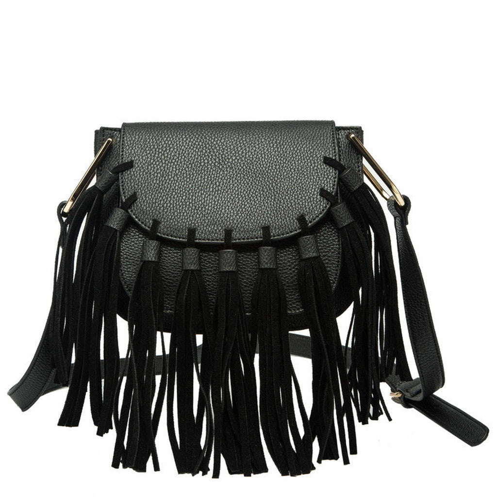 P2006 Blair Black Crossbody