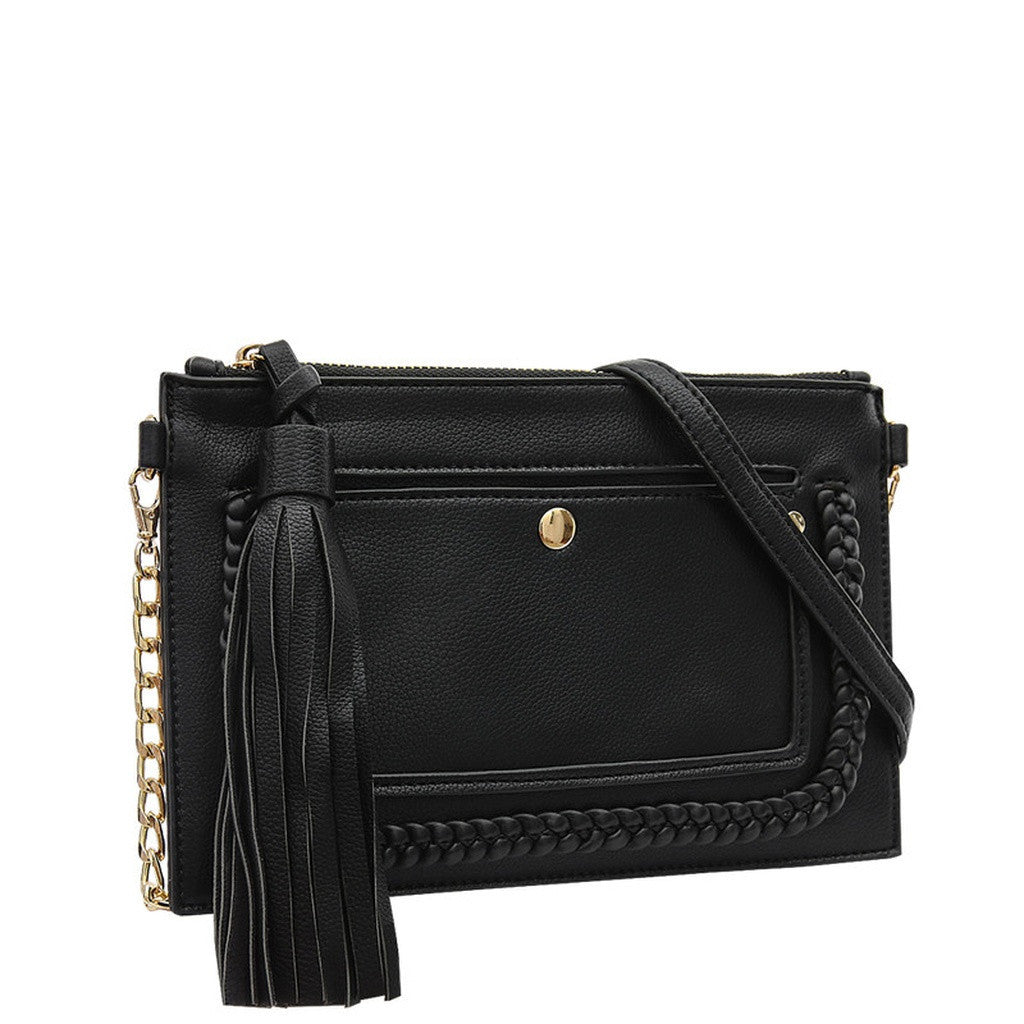 E5050 Sawyer Black Crossbody