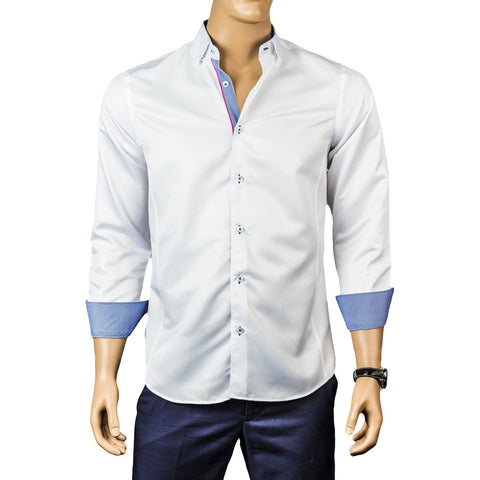 Kennedy Sateen White Shirts