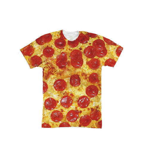Pepperoni Pizza Full Print Unisex T Shirt