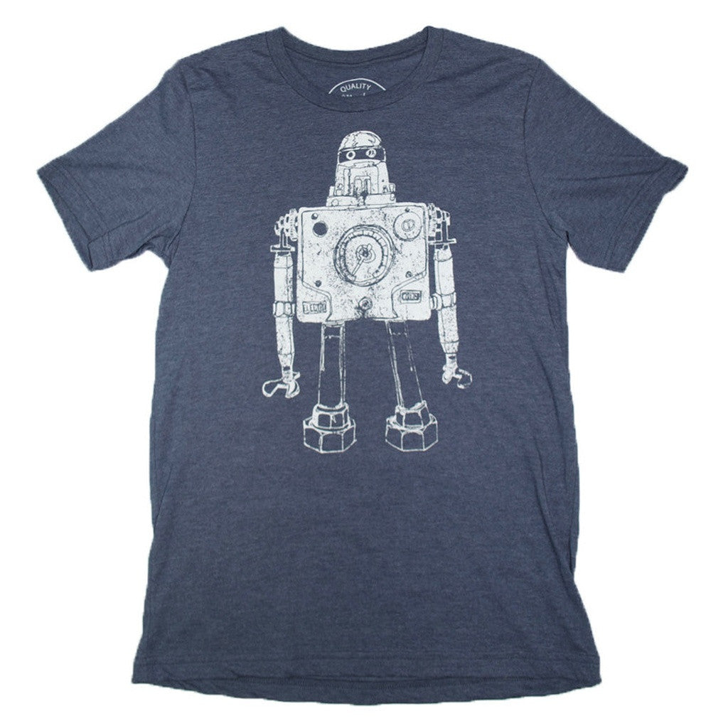 Mr Roboto Heather Navy