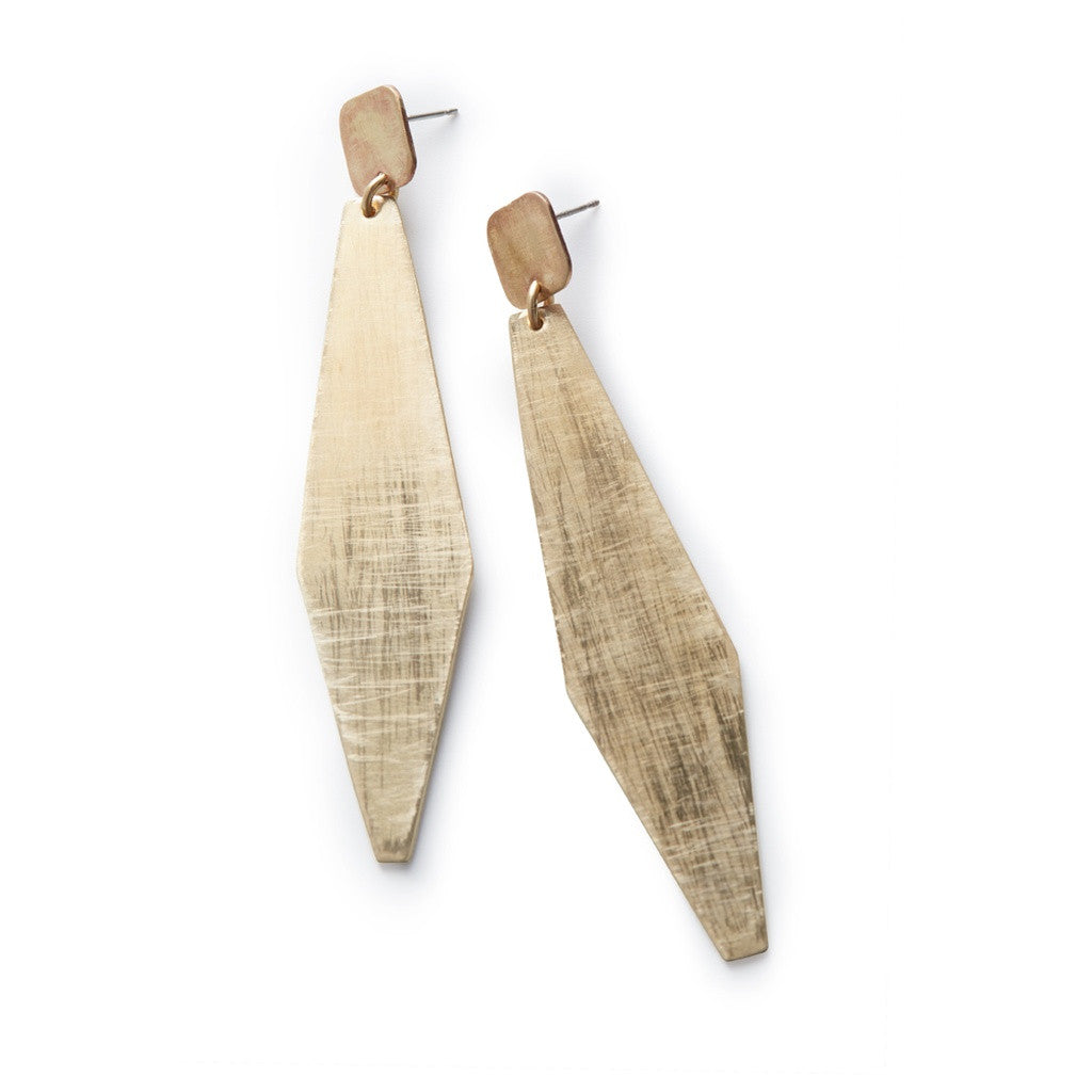 Long Geo Earrings